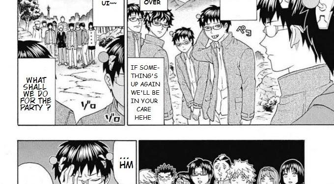 Saiki Kusuo No Ps Nan Manga Ending