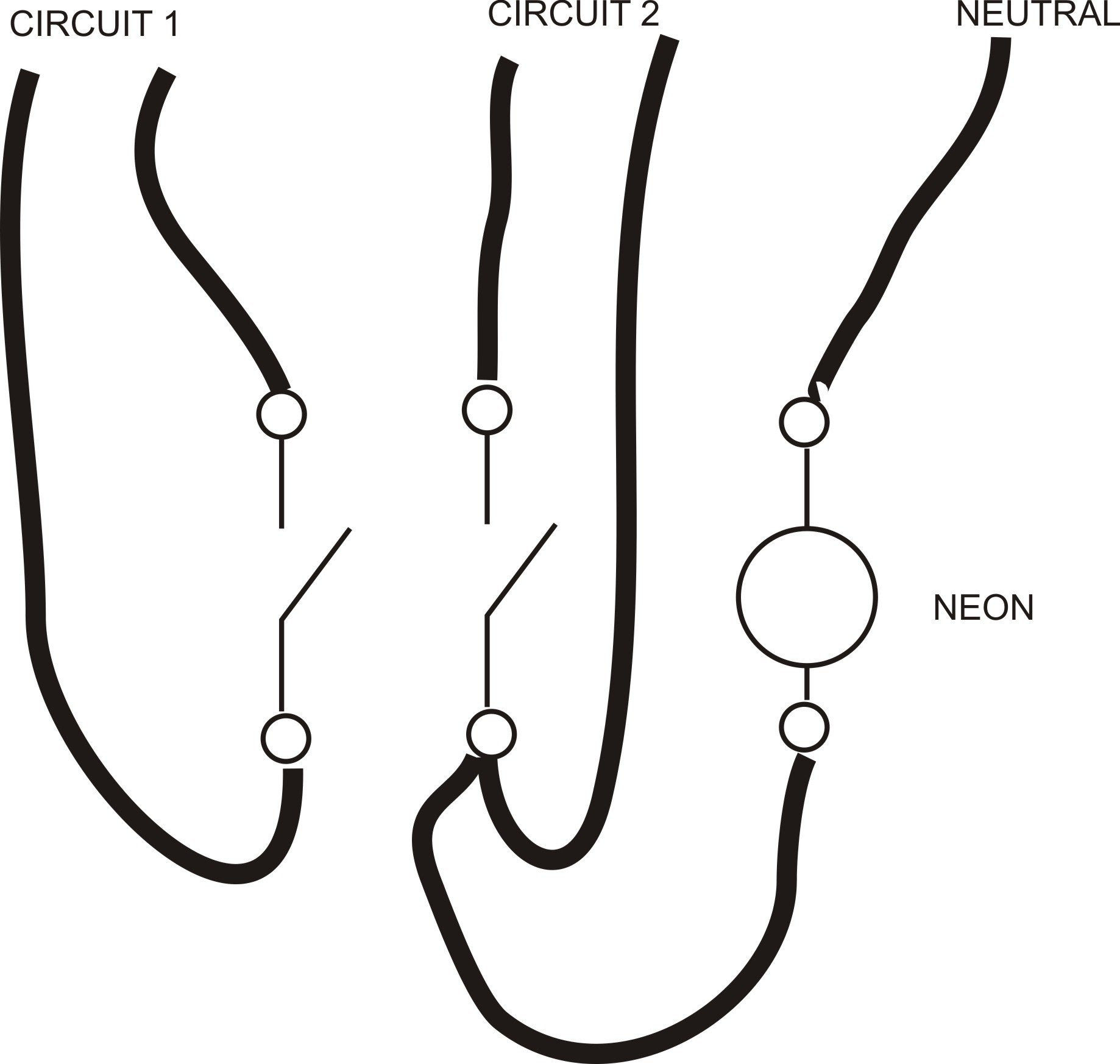 neon wiring diagram