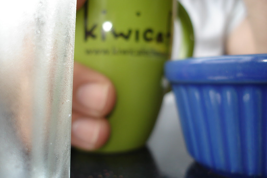 Lunch at the Kiwi Cafe
