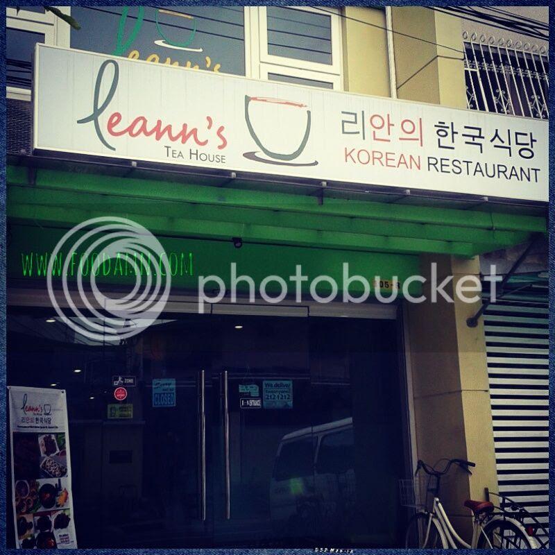 Foodamn Philippines: Leann's Tea House photo leanns-tea-house-foodamn-philippines-korean-01.jpg