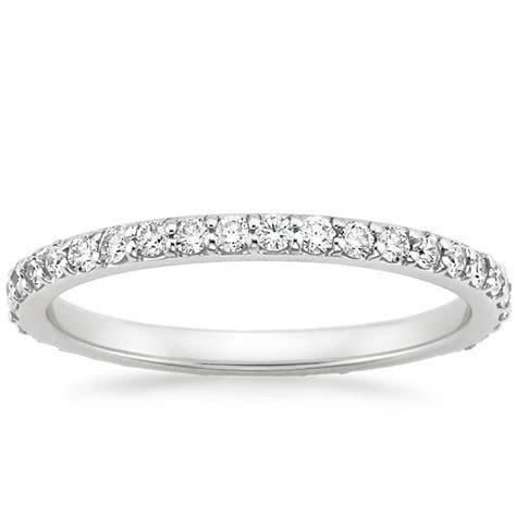Petite Shared Prong Eternity Diamond Ring   Brilliant Earth