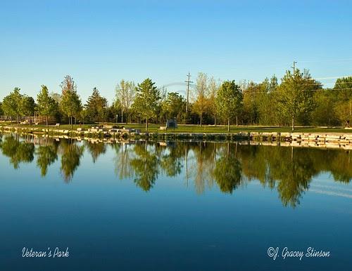 Orillia -Veterans Park in July