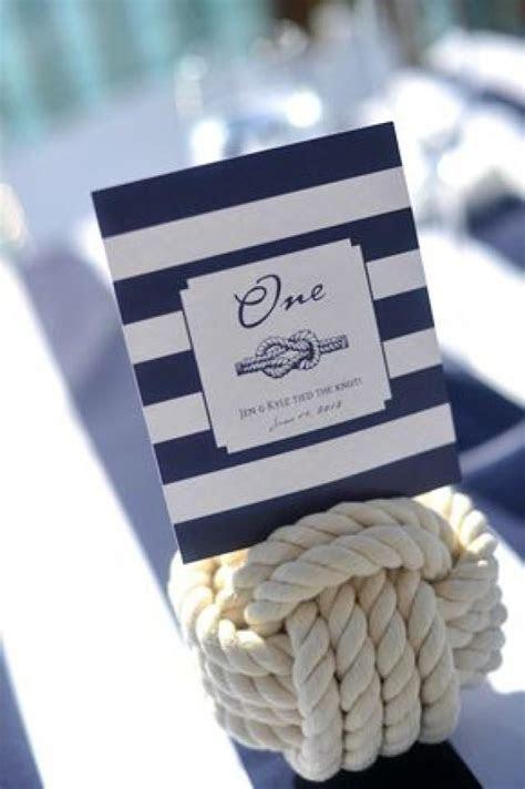 Wedding Escort Card   Nautical Idea Table Number #2047462