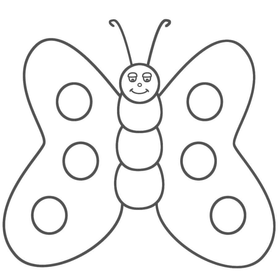 Dibujos De Mariposas Infantiles Imágenes Y Fotos