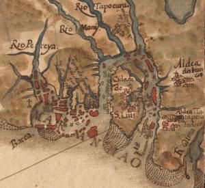São Luis do Maranhão, mapa de 1629