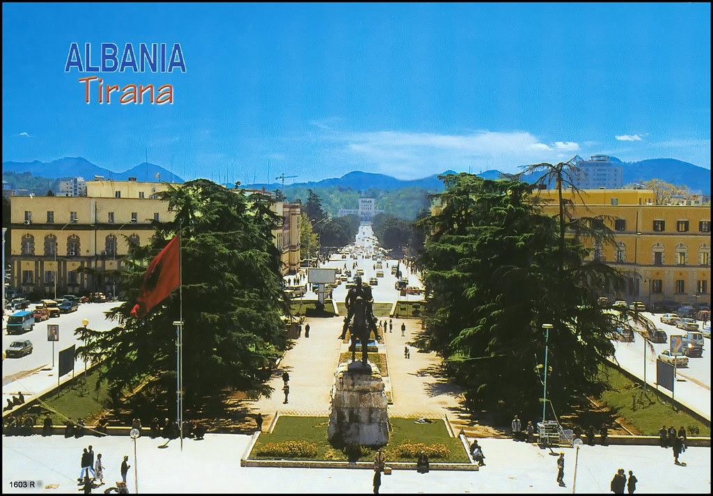 Pamje Nga Tirana View From Tirana 1603 R Pamje Nga