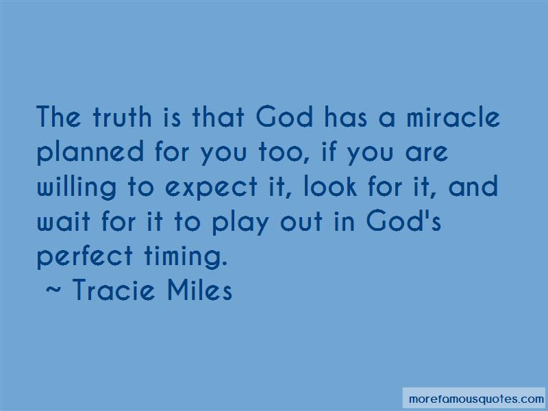 God Has Perfect Timing Quotes Top 6 Quotes About God Has Perfect