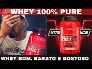 WHEY 100% PURE INTEGRALMEDICA - Whey Protein Bom Barato e Gostoso RELATO REAL. Como Tomar ?