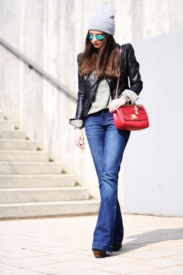 3 Ways to Style Flared Jeans