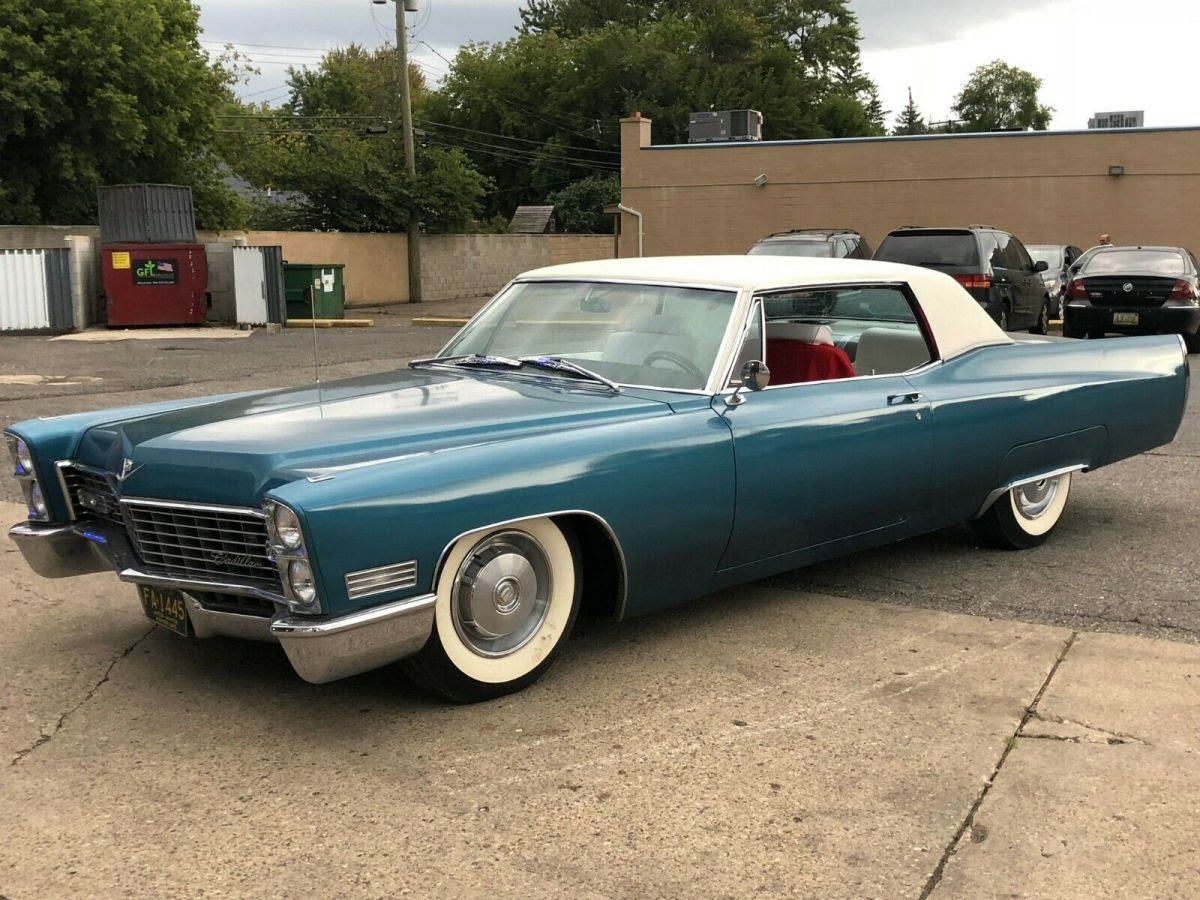 1967 Cadillac Coupe DeVille CLEAN TITLE - Classic Cadillac ...