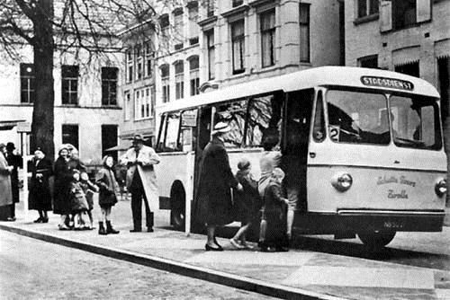 1960 Ford-transit met een tweede karrosserie van Smit-Joure