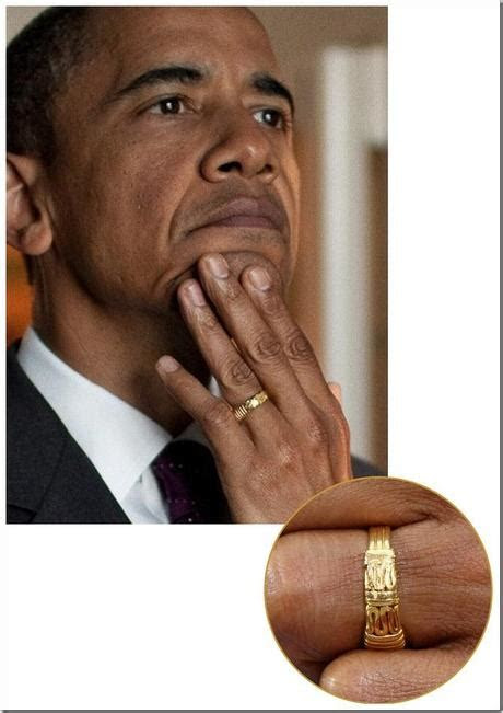 barack obama   mens wedding ring paperblog