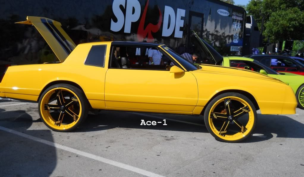 Ace 1 Yellow Chevy Monte Carlo Ss On 26 Quot Forgiatos