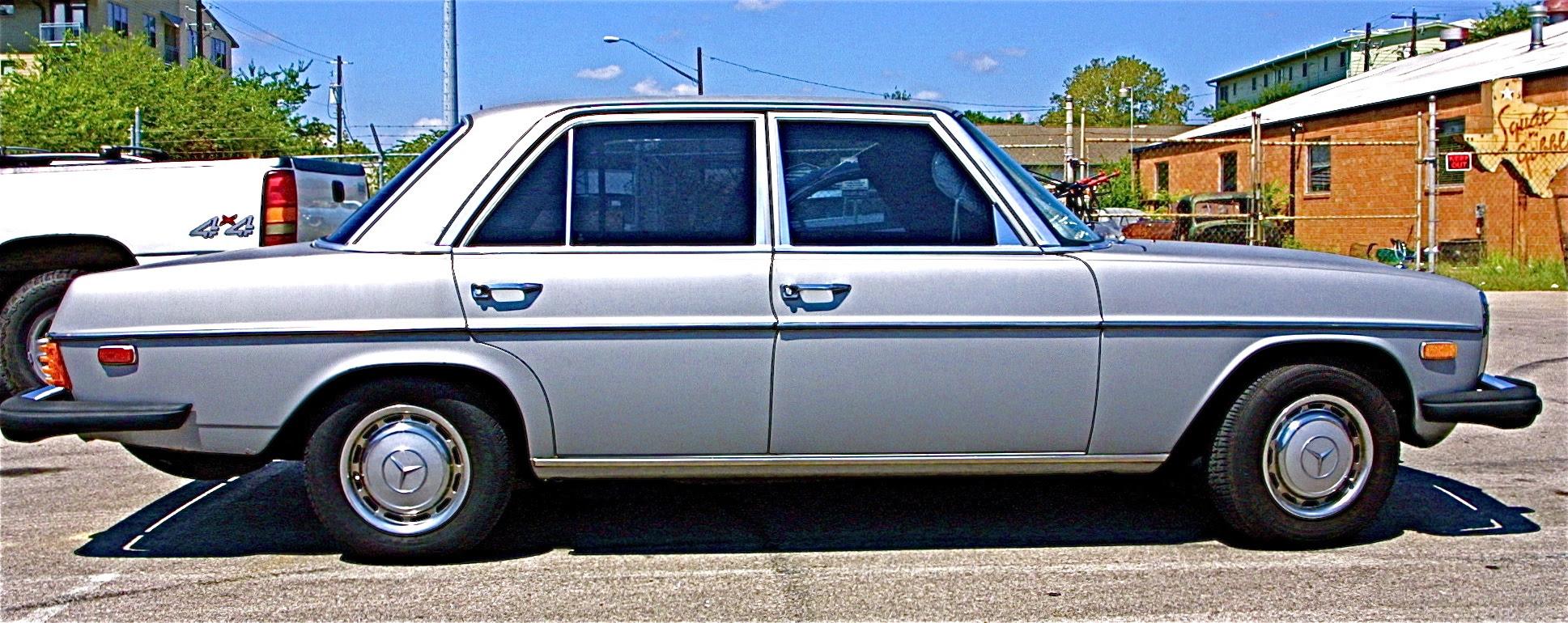Early/Mid 70s Mercedes 300D Sedan in S. Austin | ATX Car ...