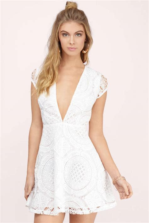 white lace dresses   Dress Yp