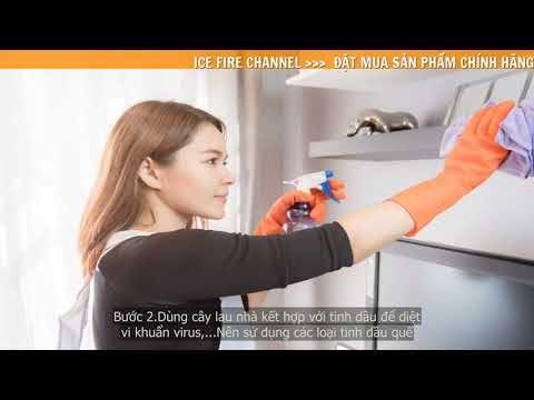 Hướng dẫn cách diệt vi khuẩn, nấm mốc cho sàn nhà và không khí thoáng đã...