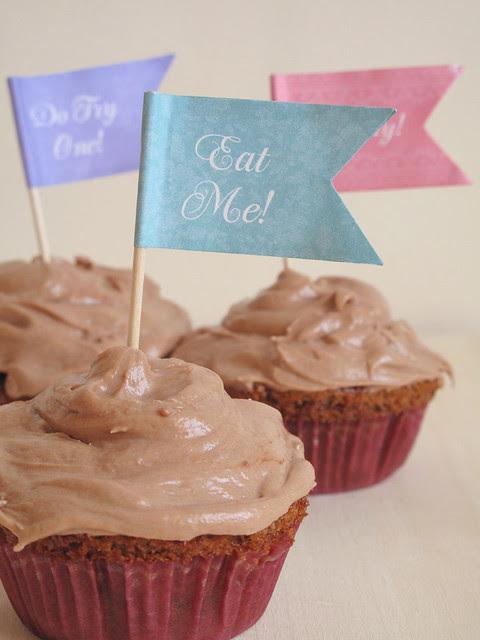 """Eat me!"" said the cupcake. So did Carolina."