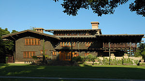 The Gamble House, Pasadena, California, by Greene and Greene