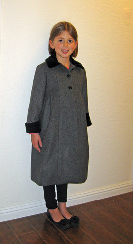 Holiday coat front