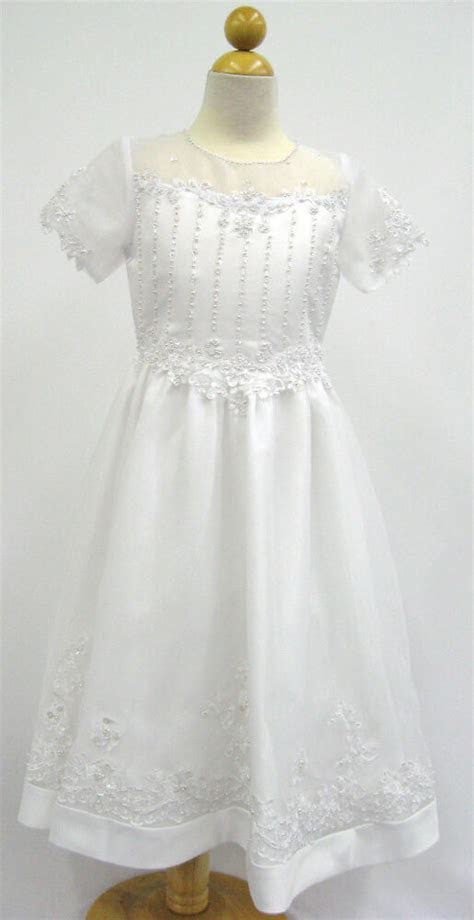 girl  communion dress formal size