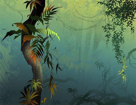 humid jungle art jungle illustration jungle art
