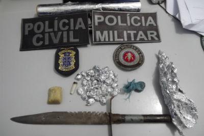 Material foi encontrado dentro de um colchão. (Foto: Ubatã Notícias)