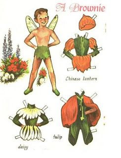 Flower Fairies and Brownies, from Jack and Jill Magazine