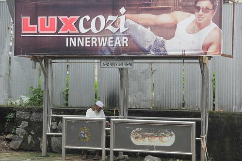 Lal Mitti Bus Stop Bandra Reclamation by firoze shakir photographerno1