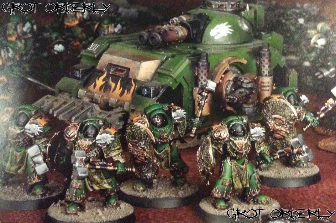 Grot, Orderly, Games, Workshop, White, Dwarf