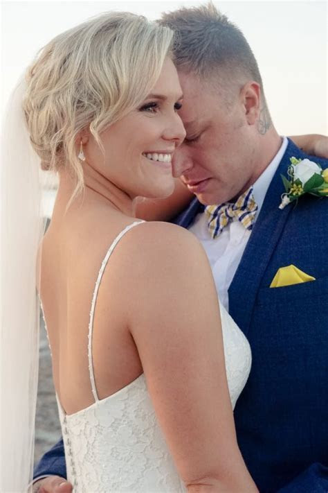 Tegan and Marty's Divine Oceanview Wedding   Polka Dot Bride