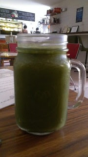 Green Smoothie from Sadhana