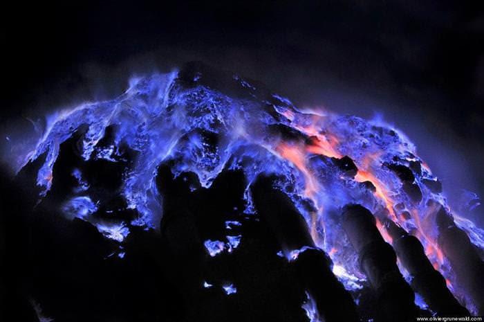 Blue Lava
