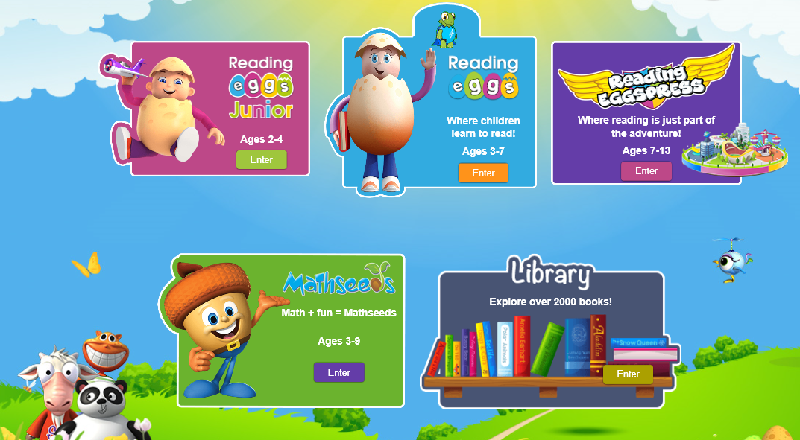 Homeschooling with Reading Eggs! Take a look at the Reading Eggs Dashboard! #ReadingEggs #Mathseeds #Library #EduVideos