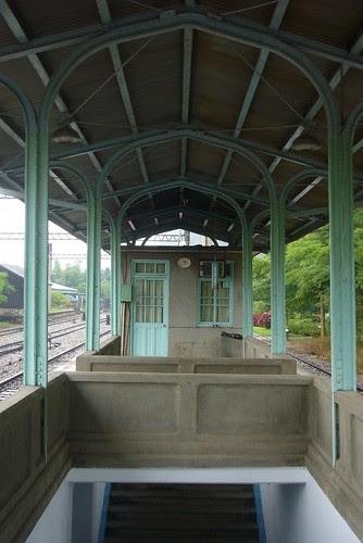 舊山線泰安站月台
