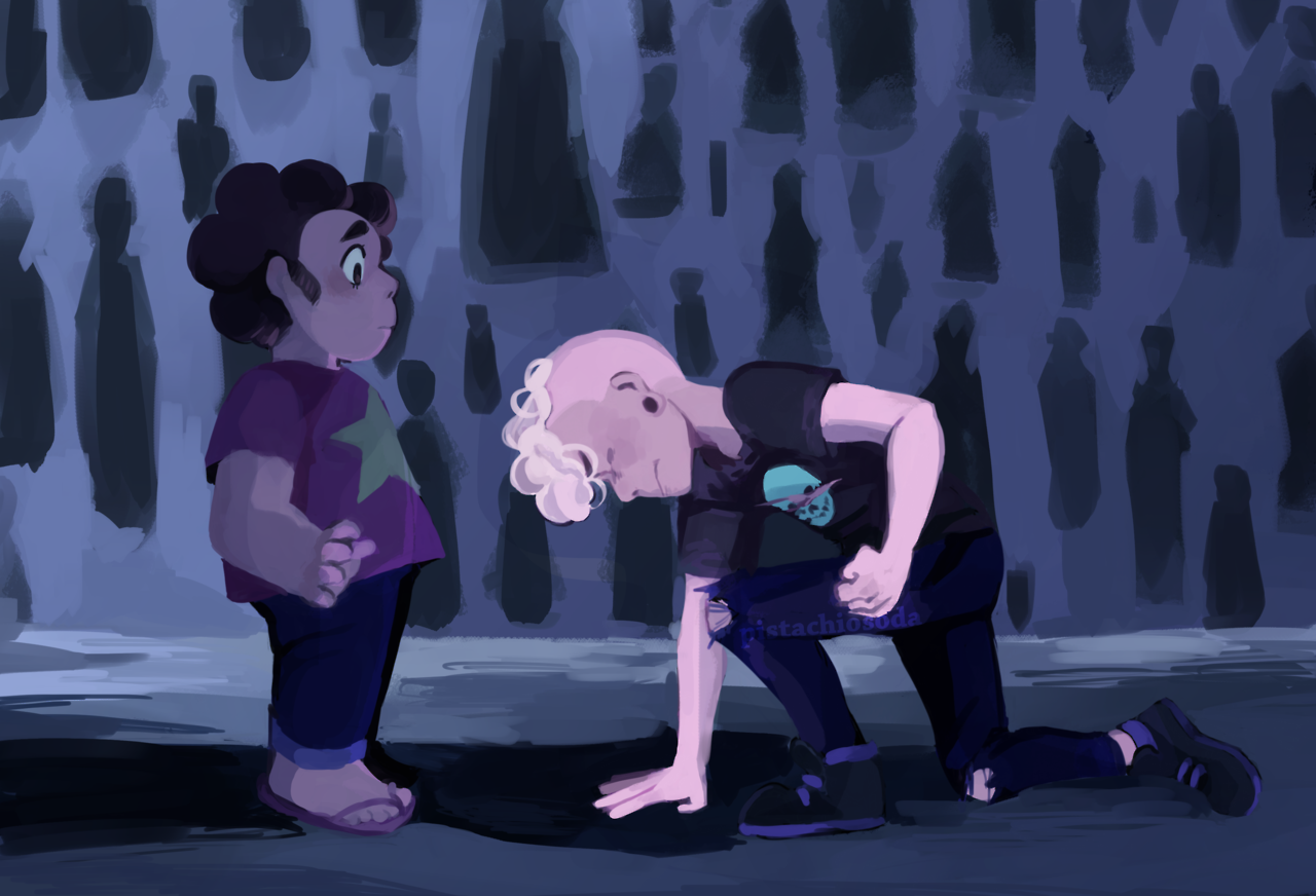 screencap redraw from the newest episode!