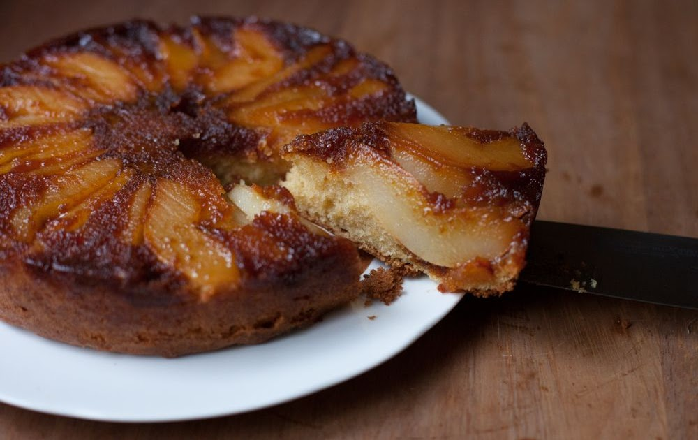 Pear & Caramel Pudding Cake