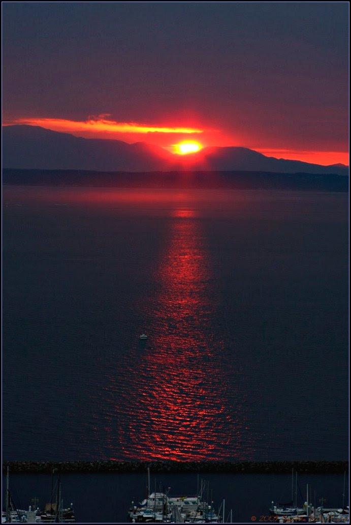 Sunset Hill Summer Sunset
