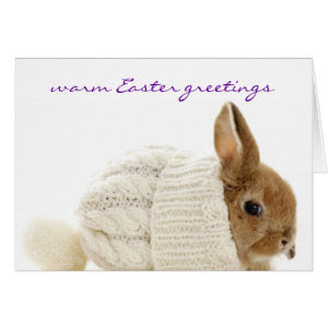 Warm Easter Greetings Card