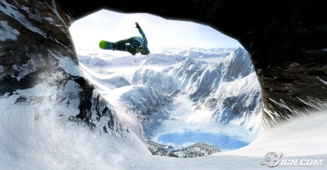 Shaun White Snowboarding Screenshot