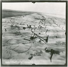 One of the many gliders that took part in the Normandy invasion ...