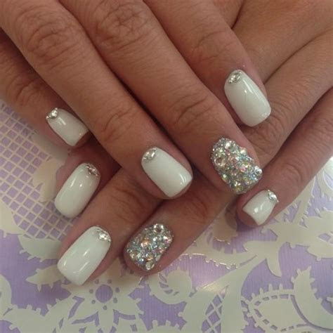 Silver Wedding   Bridal Nail #2057083   Weddbook