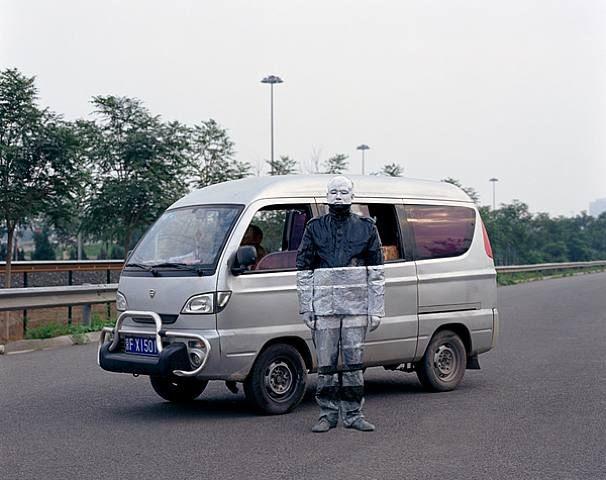 Liu Bolin, Truck
