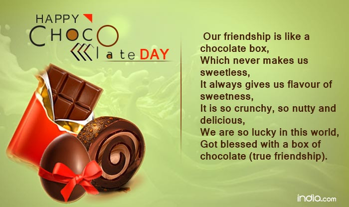 Chocolate Day 2017 Wishes Happy Chocolate Day Quotes Sms Facebook