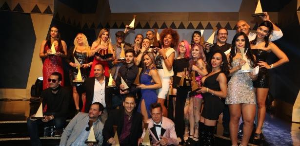28.jun.2016 - A 3ª edição do Prêmio Sexy Hot, o Oscar da Indústria Pornô, aconteceu em São Paulo