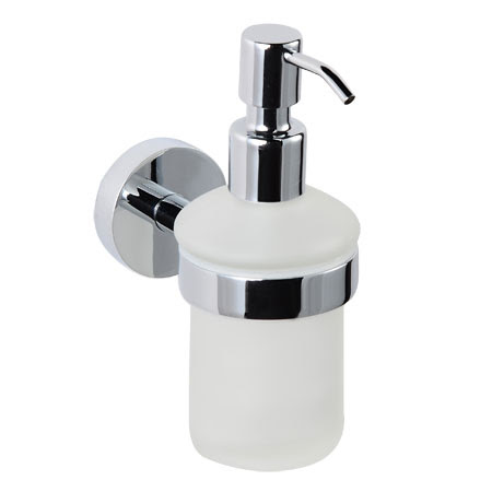 Wall Mounted Frosted Glass Soap Dispenser Soap Dispensers By