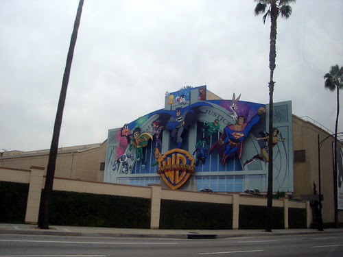 At Warner Bros Studios