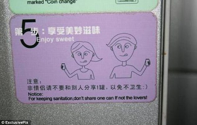 Romance: For sanitation purposes you should only share your can with a lover