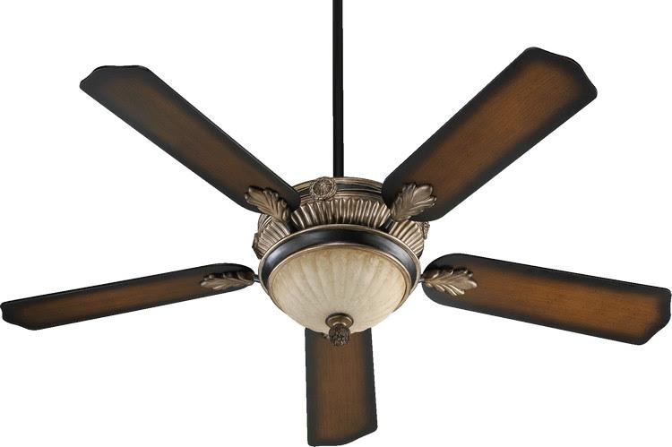 Lighting Quorum Lighting Mendocino Old World Ceiling Fan