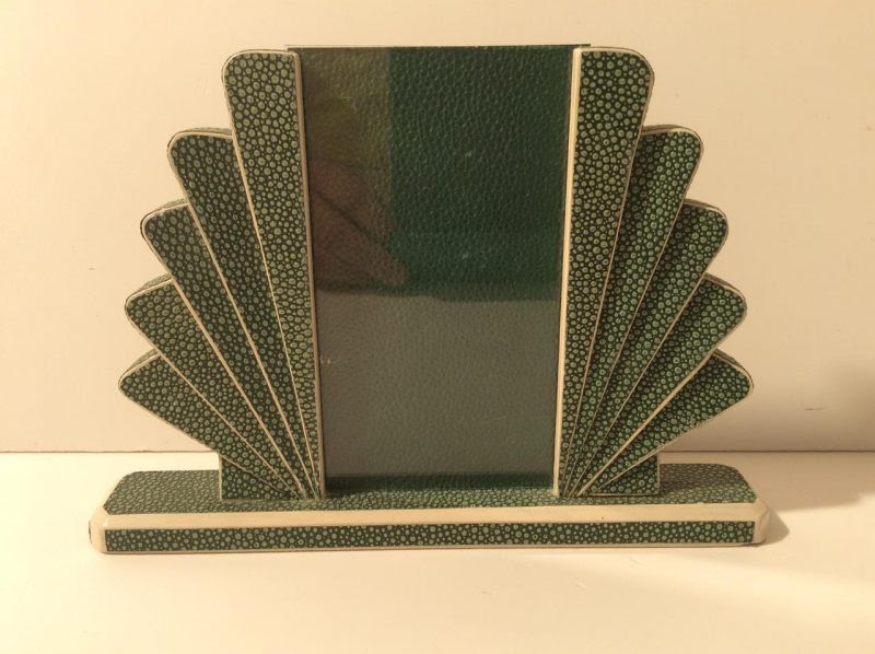 Art Deco Shagreen Photo Frame Interior Boutiques Antiques For