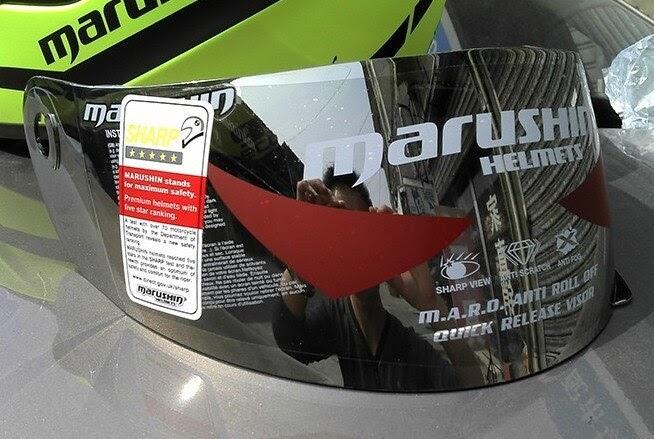 Comprar Marushin Viseira Completa Capacetes De Moto 999 222 888 778 Preto E  Transparente Anti Nevoeiro Lente Cor Prata Baratas Online Preço ~ ... b02e4d3e7f3